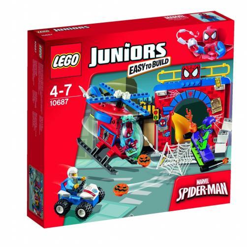 LEGO Juniors Spider-Manova™ skrýš