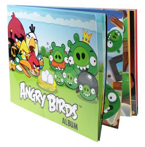 Album Angry Birds+8 samolepek+plakát