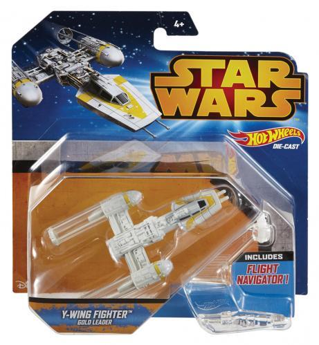 Hot Wheels Star Wars kolekce hvězdných lodí