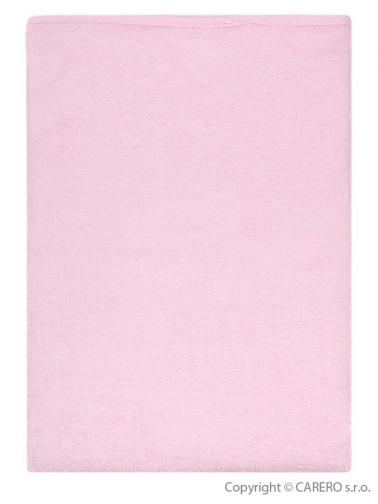 Nepromokavá podložka Akuku froté 70x50 cm - růžová Růžová