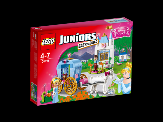 LEGO Juniors Popelčin kočár