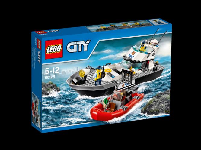 LEGO City Policejní hlídková loď