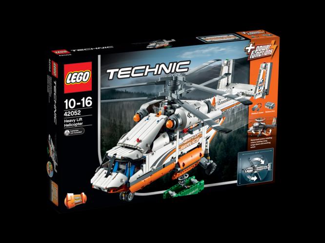 LEGO Technic Helikoptéra na těžké náklady