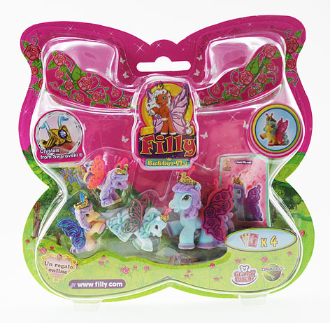 Filly Butterfly rodinka 1+3