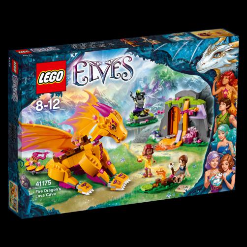 LEGO Elves Lávová jeskyně ohnivého draka