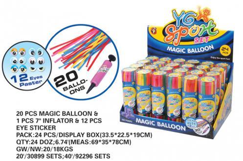 Balonky tvarovací