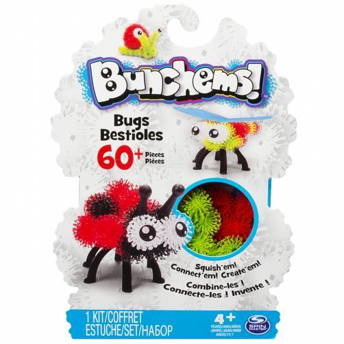 Bunchems - Kreativní balení zvířátka, brouci, květiny
