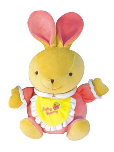 Dětská hračka Zajíček s hracím strojkem