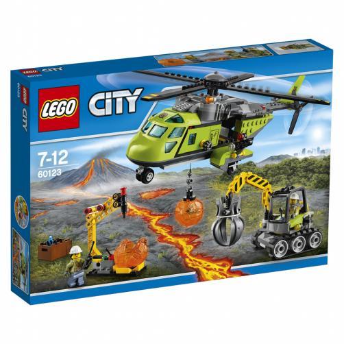 LEGO City Sopečná zásobovací helikoptéra