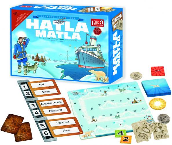 Společenská hra Hatla Matla