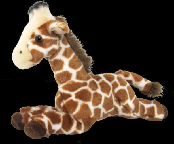 Žirafa plyšová 25 cm