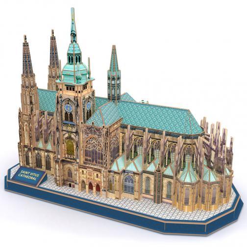 Puzzle 3D Katedrála Sv. Víta