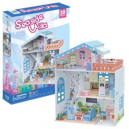 Puzzle 3D Dollhouse - Seaside Villa
