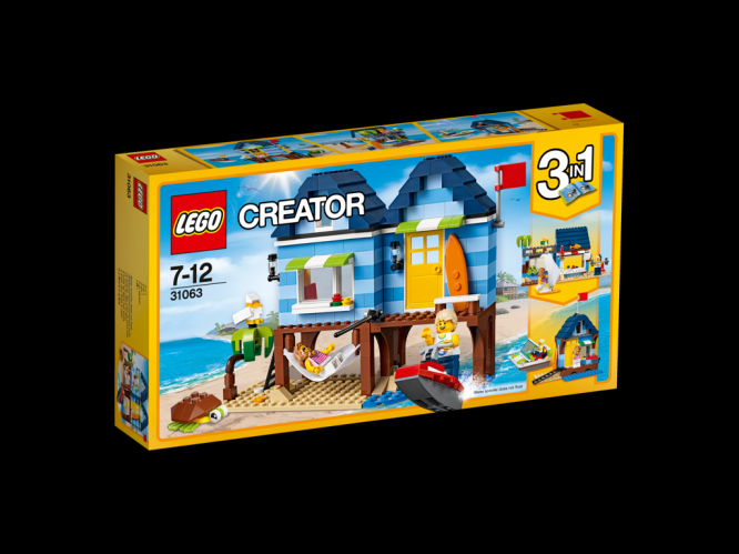 Lego Creator Dovolená na pláži