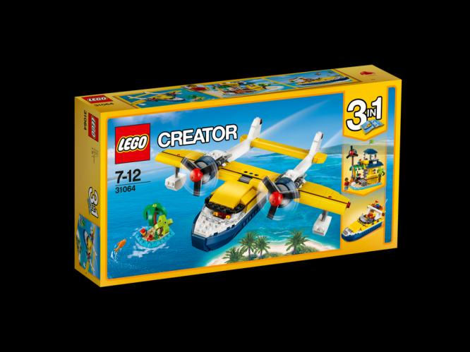 Lego Creator Dobrodružství na ostrově