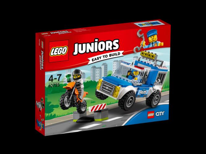 LEGO Juniors Honička s policejní dodávkou