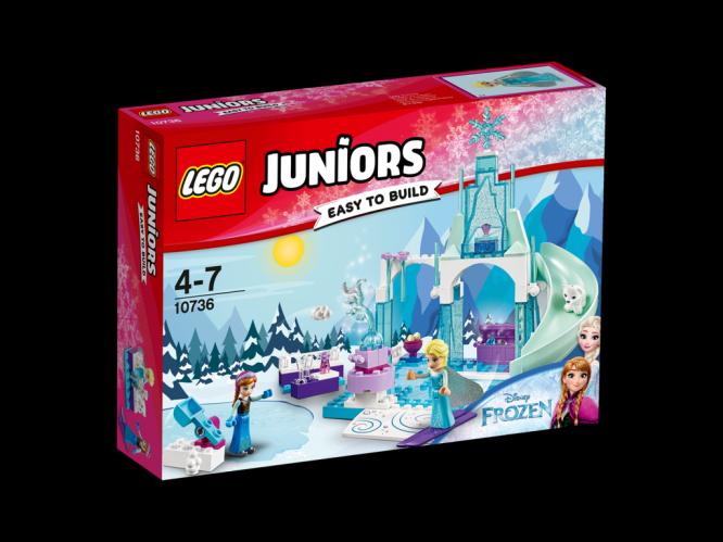 LEGO Juniors Ledové hřiště pro Annu a Elsu