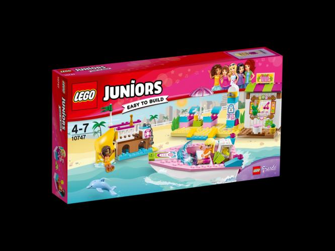 LEGO Juniors Andrea a Stephanie na dovolené na pláži
