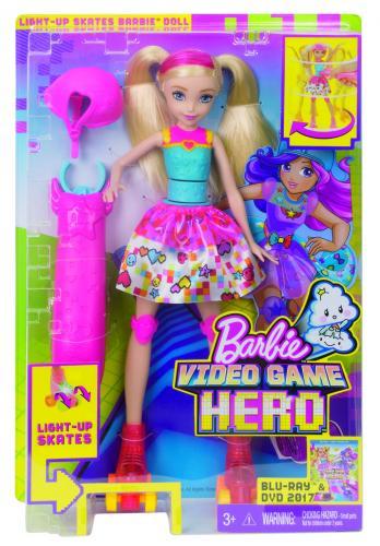 Barbie ve světě her na bruslích