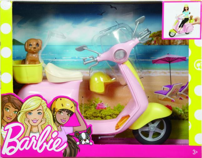 Barbie skútr