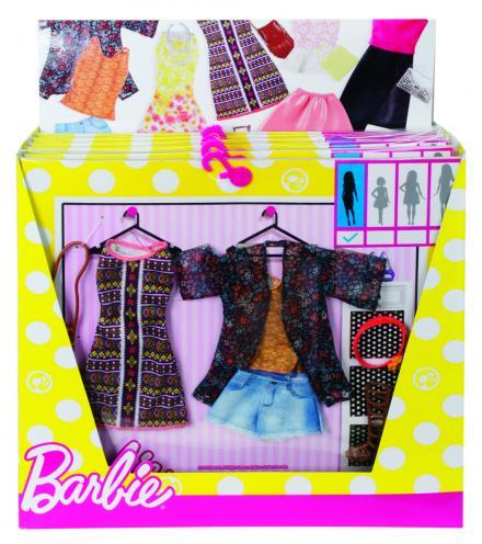 Barbie dvoudílný set oblečení