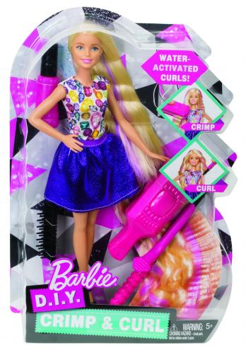 Barbie vlny a lokny
