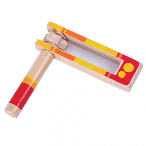 Dřevěné hudební nástroje - Řehtačka