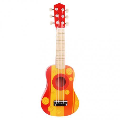 Dřevěné hudební nástroje - Kytara