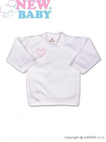 Bílá kojenecká košilka vel. 50 New Baby Classic