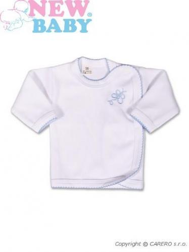 Bílá kojenecká košilka vel. 62 New Baby Classic
