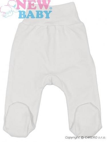 Bílé kojenecké polodupačky vel. 68 New Baby Classic