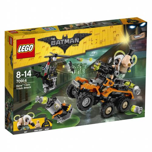 Lego Batman Bane™ a útok s náklaďákem plným jedů
