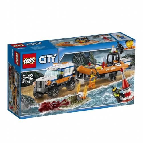 Lego City Vozidlo zásahové jednotky 4x4