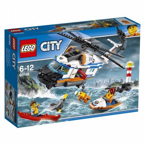 Lego City Výkonná záchranářská helikoptéra