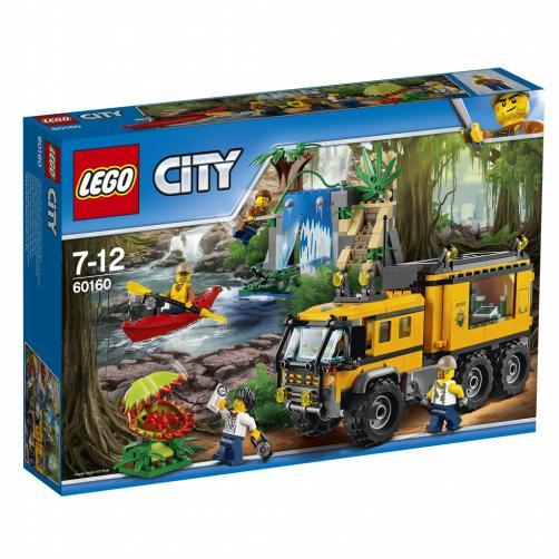 Lego City Mobilní laboratoř do džungle