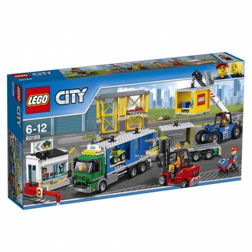 Lego City Nákladní terminál