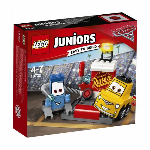 Lego Juniors Zastávka v boxech Guida a Luigiho