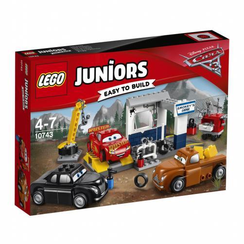 Lego Juniors Čmoudíkova garáž