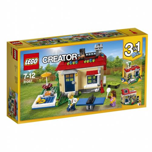 Lego Creators Modulární prázdniny u bazénu
