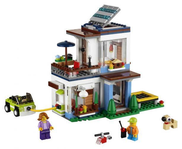 Lego Creators Modulární moderní bydlení