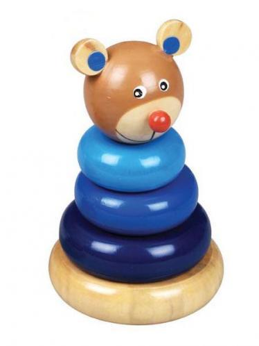Dřevěná hračka - Modrá věž