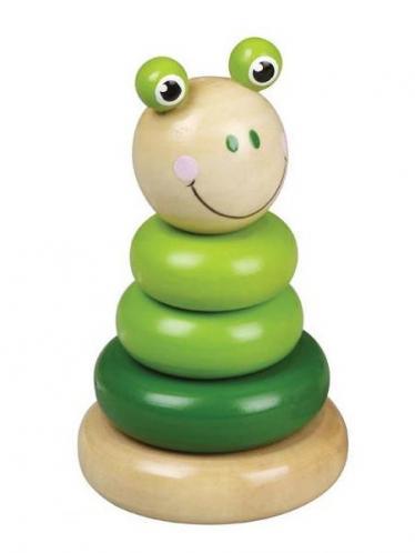 Dřevěná hračka - Zelená věž