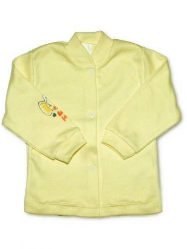 Béžový kojenecký kabátek vel. 56 New Baby