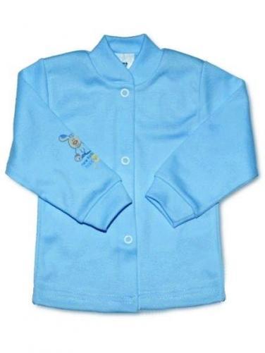 Modrý kojenecký kabátek vel. 50 New Baby