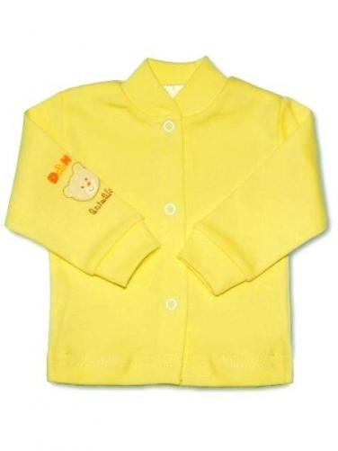 Kojenecký kabátek vel. 50 New Baby žlutý