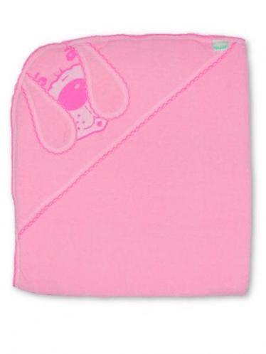 Dětská osuška pejsek Růžová