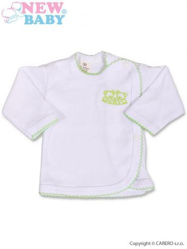 Bílá kojenecká košilka vel. 68 New Baby Classic