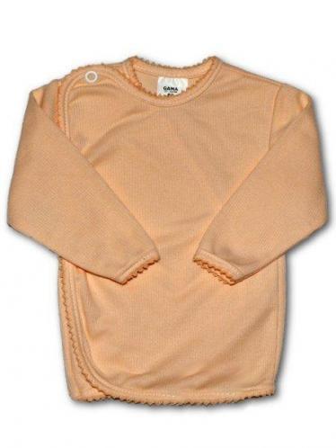 Kojenecká košilka proužkovaná vel. 68 New Baby oranžová