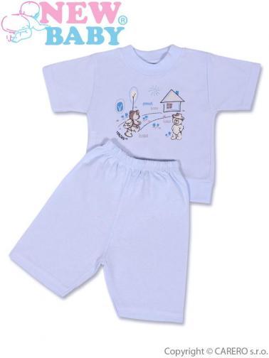 Modré dětské letní pyžamo vel. 128 (7-8 let) New Baby