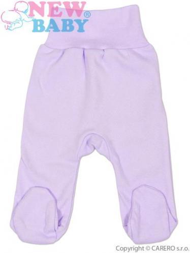 Fialové kojenecké polodupačky vel. 80 New Baby